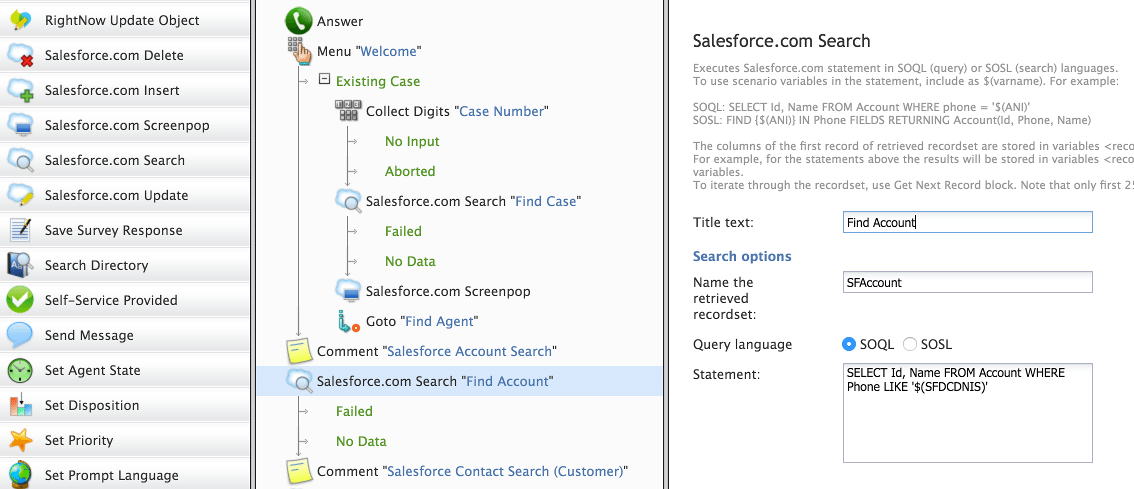 Salesforce integrations Call center software