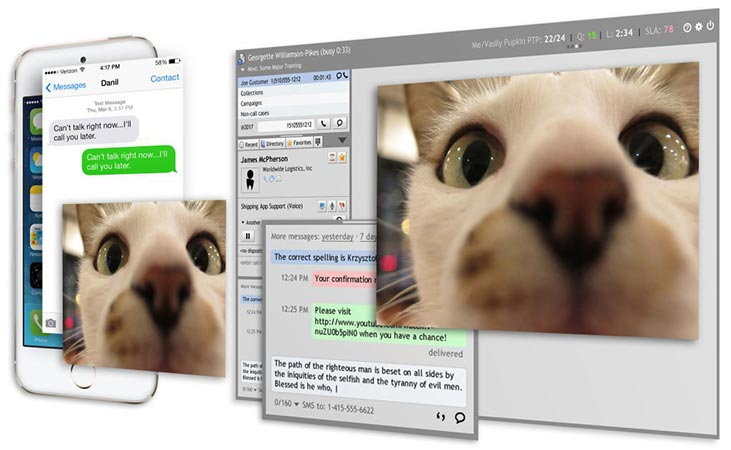 multichannel call center software