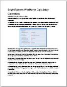 WFM Calculator Instructions